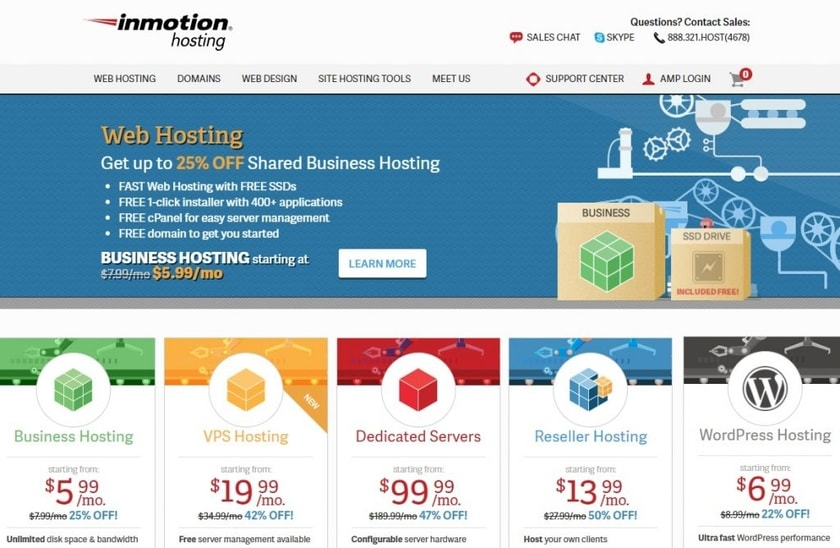 inmotion hosting uk