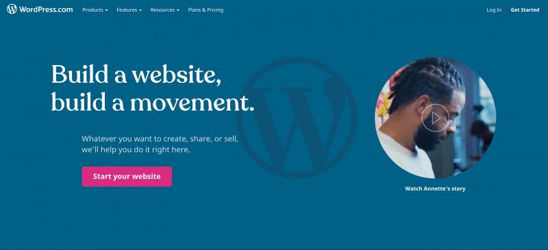 Free Web Hosting WordPress