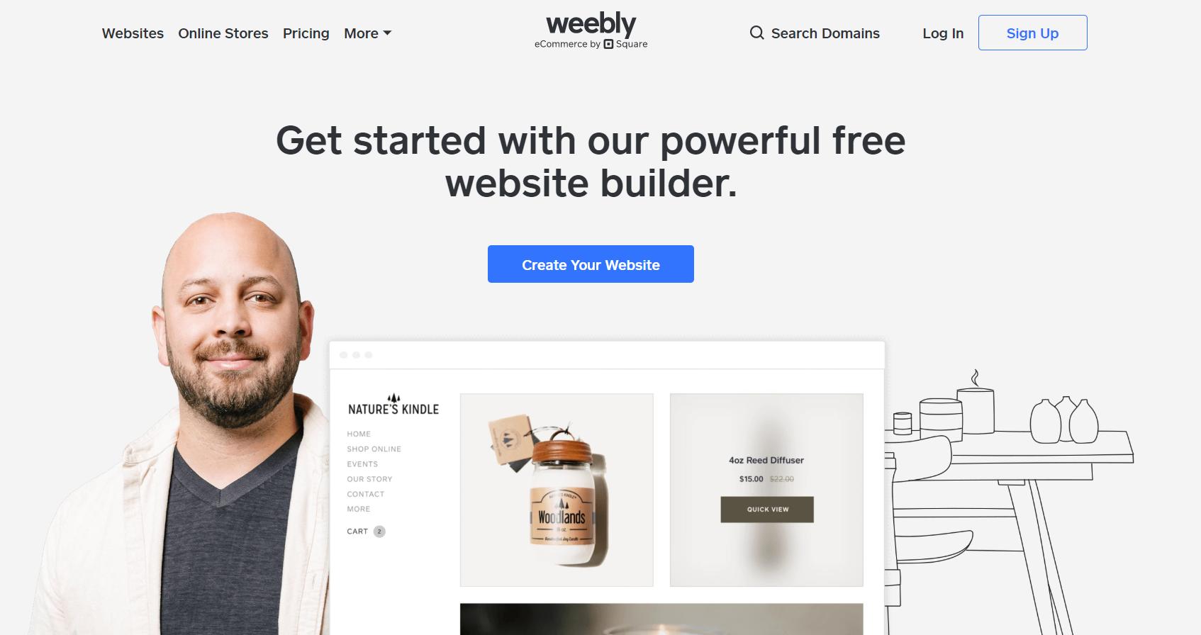 Weebly Best Free Hosting Site