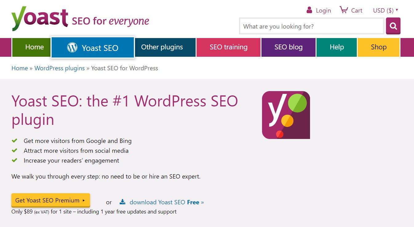 Yoast SEO - the WordPress SEO plugin