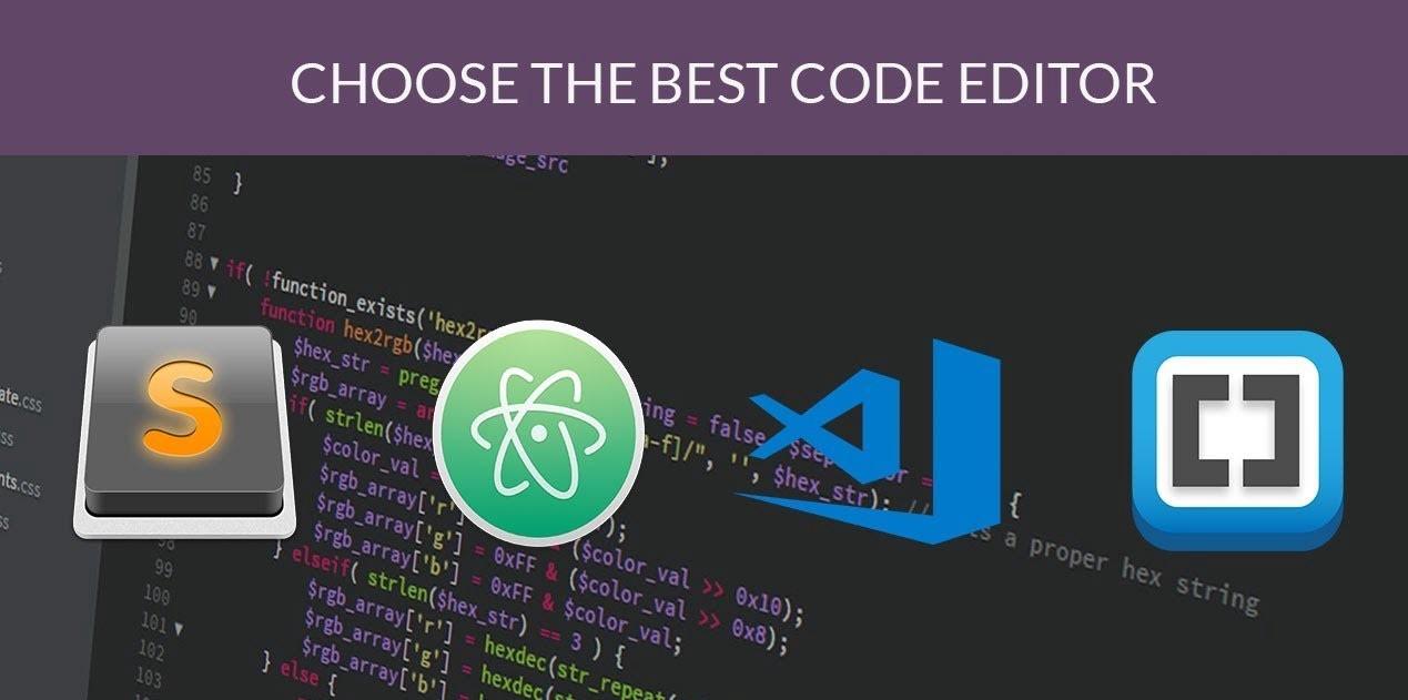 Code & Text Editors