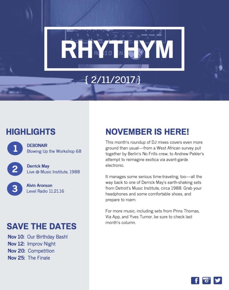 Rhythym Content